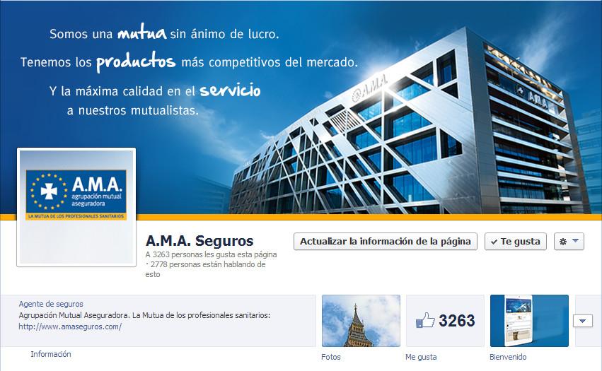 A.M.A. Seguros en Facebook