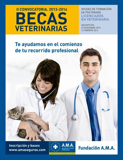 Becas Veterinaria Fundación A.M.A.