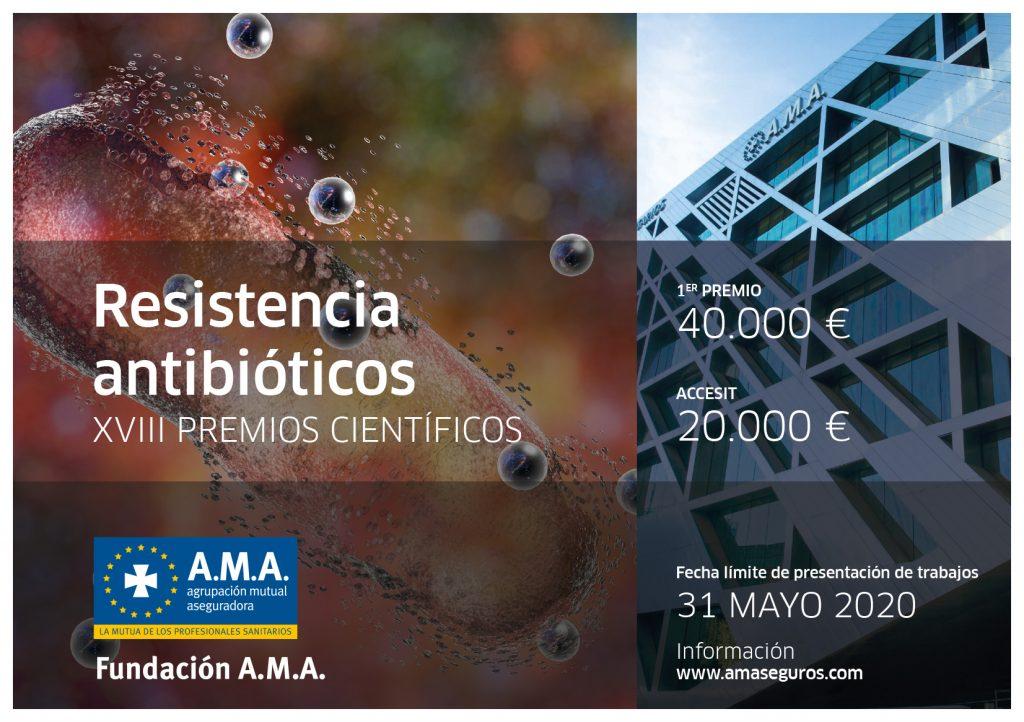 XVIII PREMIOS CIENTIFICOS Fundación A.M.A.