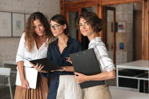 Mujeres en el sector de las aseguradoras